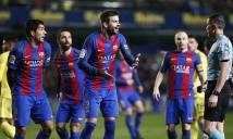 Sao Barca 'ăn đủ' vì thói chỉ trích trọng tài