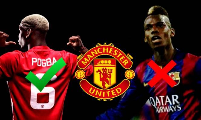 Điều gì đã ngăn cản Pogba đến với Barca?