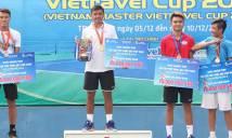 Hoàng Nam, Tâm Hảo trở thành nhà vô địch giải Các cây vợt xuất sắc 2016