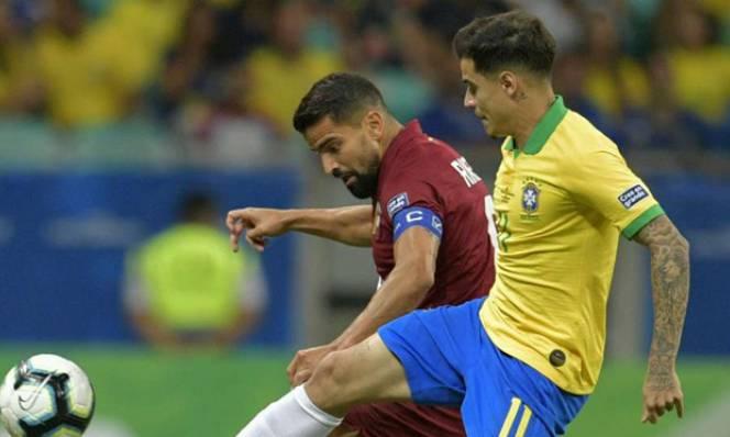 Kết quả Brazil vs Venezuela: Đỉnh cao kịch tính, 3 lần cay đắng ôm hận vì trọng tài