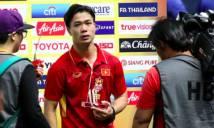 Đốt lưới Thái Lan 2 bàn, Công Phượng nhận giải Cầu thủ xuất sắc lần thứ 2 tại Cúp M-150