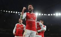 Giroud lập siêu phẩm, đưa Arsenal bay vào Top 3