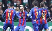 Neymar và Suarez sa sút, Barca chỉ trông đợi vào Messi