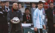 Ngày Sampaoli - Messi tương phùng sẽ không còn xa?