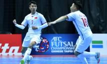 Trực tiếp ĐT Futsal Đài Loan - ĐT Futsal Việt Nam 18h00, 05/02 (VCK Futsal châu Á 2018)