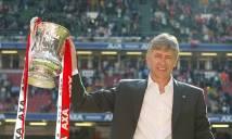 'Giáo sư' Wenger quyết nâng cúp FA để lập kỷ lục mới