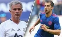 Mourinho trao cơ hội cho Mkhitaryan tại sân chơi Europa League