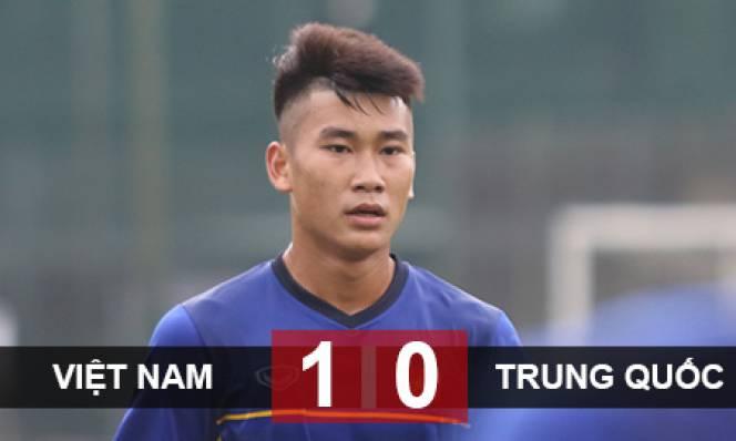 U19 Việt Nam 1-0 U19 Trung Quốc: Chạy đà hoàn hảo