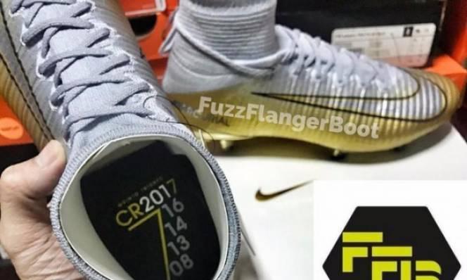 Đôi giày mới chứng minh chắc chắn Ronaldo sẽ giành Quả bóng vàng 2017