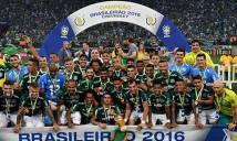 Tân binh của Man City vô địch Brazil cùng Palmeiras