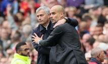 Trước trận MU vs Man City: Pep và Mou tính đường thắng hay tính đường thua?