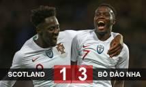 Scotland 1-3 Bồ Đào Nha: Không Ronaldo, Bồ Đào Nha thắng trận thứ 3 liên tiếp