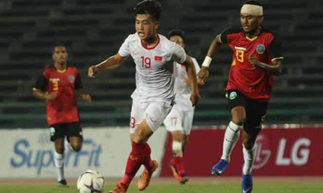 Đại thắng U22 Timor Leste, U22 Việt Nam hẹn quyết chiến với U22 Thái Lan