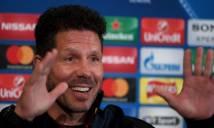 HLV Simeone giúp Atletico lập kỳ tích ghi bàn