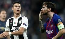 Simeone vạ miệng vì lỡ khen Ronaldo hay hơn Messi