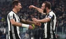 Higuain không còn cửa trở lại Juventus, Mandzukic cũng phải bán xới