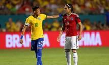 Nhận định Colombia vs Brazil 03h30, 06/09 (Vòng loại World Cup 2018 khu vực Nam Mỹ)