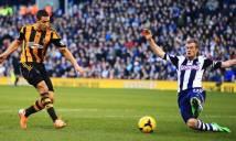 West Brom vs Hull City, 22h00 ngày 02/01: Chưa thể thoát dớp
