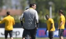 Chùm ảnh: Không để các học trò 'bay' quá lâu, Allegri thực hiện ngay buổi tập dành cho Serie A
