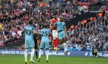 Chấm điểm Man City sau trận thua Arsenal: Công làm thủ phá