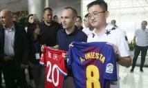 """Lộ diện đại gia Trung Quốc ráo riết """"săn"""" Iniesta"""
