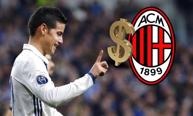 AC Milan chi tiền tấn để sở hữu James Rodriguez