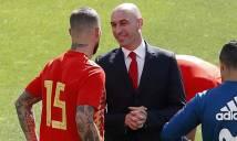 Ramos ẩu đá với chủ tịch LĐBĐ Tây Ban Nha ngay trước thềm đại chiến