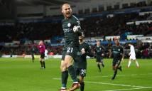 Vùi dập Swansea, Man City lập 'siêu kỷ lục' ở Premier League