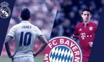 James Rodriguez và những danh thủ từng khoác áo cả Bayern và Real