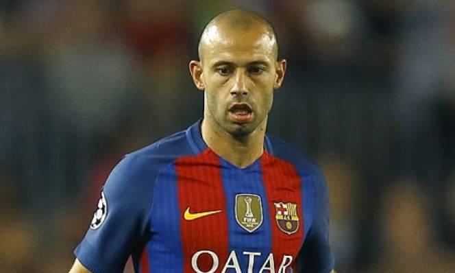 Mascherano đạt cột mốc đáng nhớ tại Barca