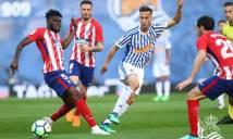 KẾT QUẢ Real Sociedad vs Atletico Madrid: Atletico quyết hạ nhục 'hàng xóm'