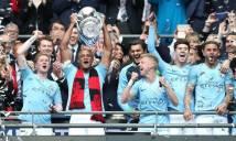 Thắng tưng bừng Watford, Man City hoàn tất cú ăn ba lịch sử