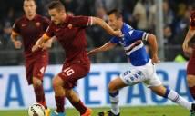 Roma vs Sampdoria, 03h00 ngày 20/01: Không còn nhàm chán