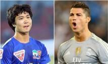 'Bắt chước' Ronaldo, Công Phượng bất ngờ tỏa sáng rực rỡ