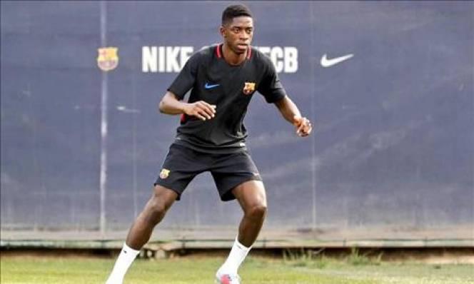 """Barca đón tin vui từ """"bom tấn"""" Dembele"""