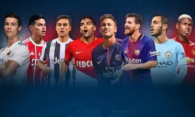 Minh chứng Champions League mùa 2017-2018 sẽ hay nhất lịch sử