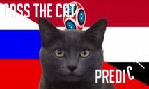 Tiên tri mèo Cass dự đoán Nga vs Ai Cập, 01h00 ngày 20/6