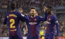 Barca giành cú đúp danh hiệu cuối tuần này?